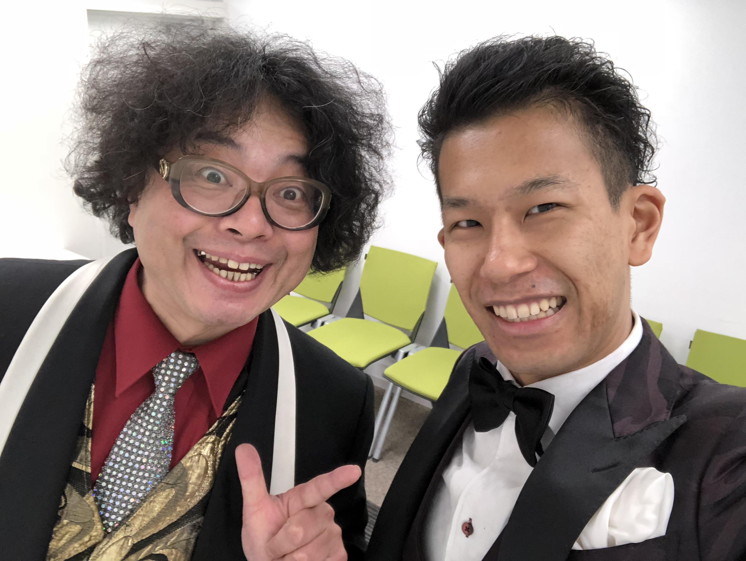 藤本明義&ナカノ・マクレーン