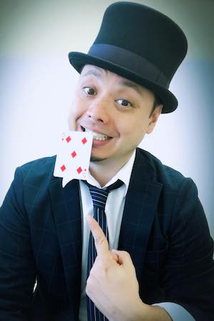 マジシャン派遣ランドから出張派遣できるマジシャン ロドリゴ